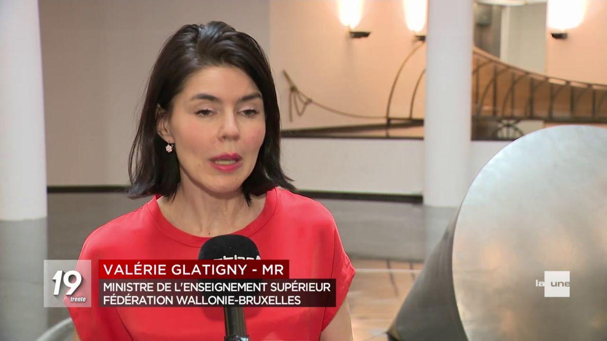 Précarité des étudiants - réaction Valérie Glatigny
