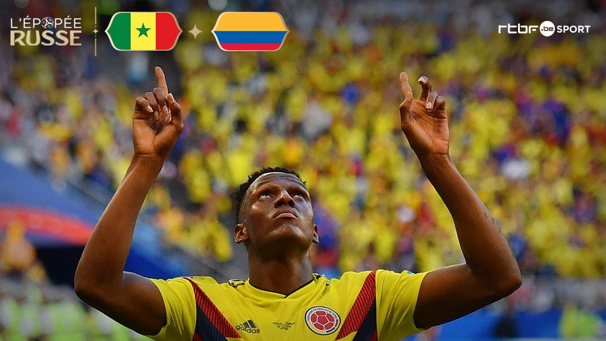 Sénégal - Colombie : 0-1