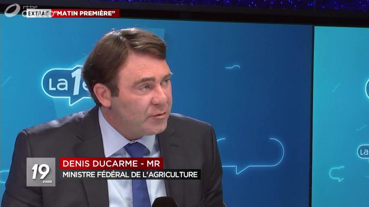 AFSCA : Denis Ducarme se défend