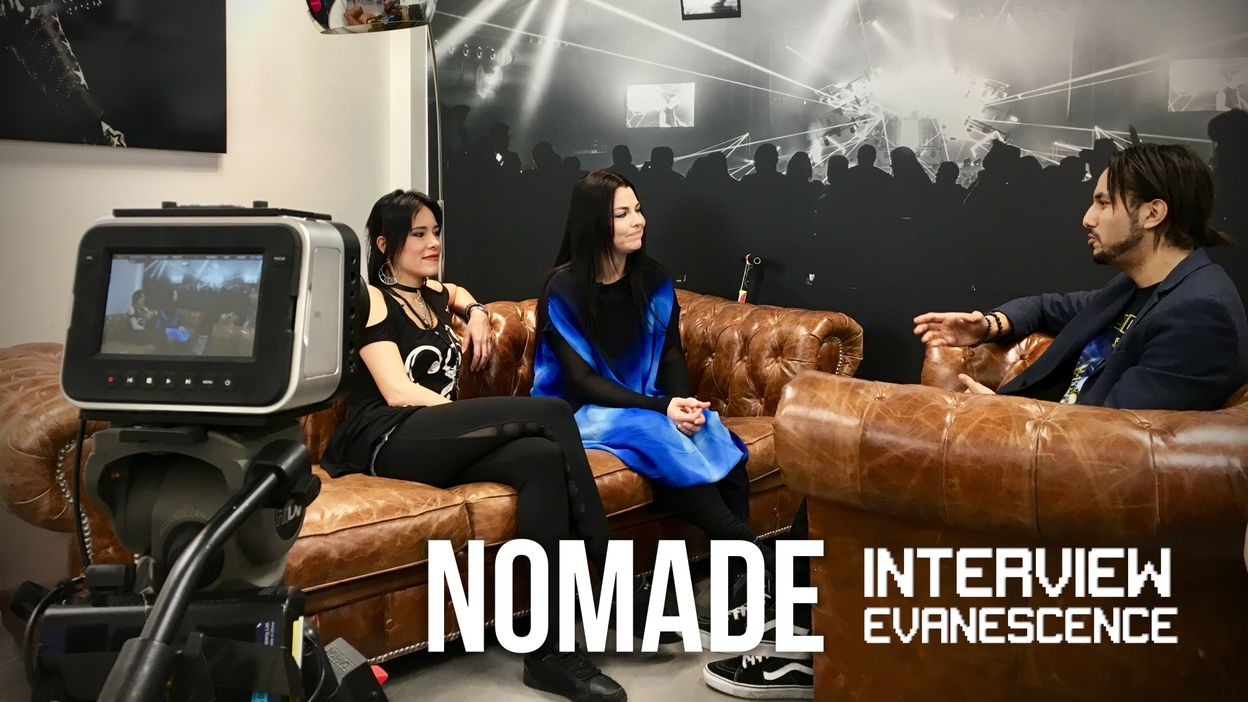 Nomade Interview: Evanescence