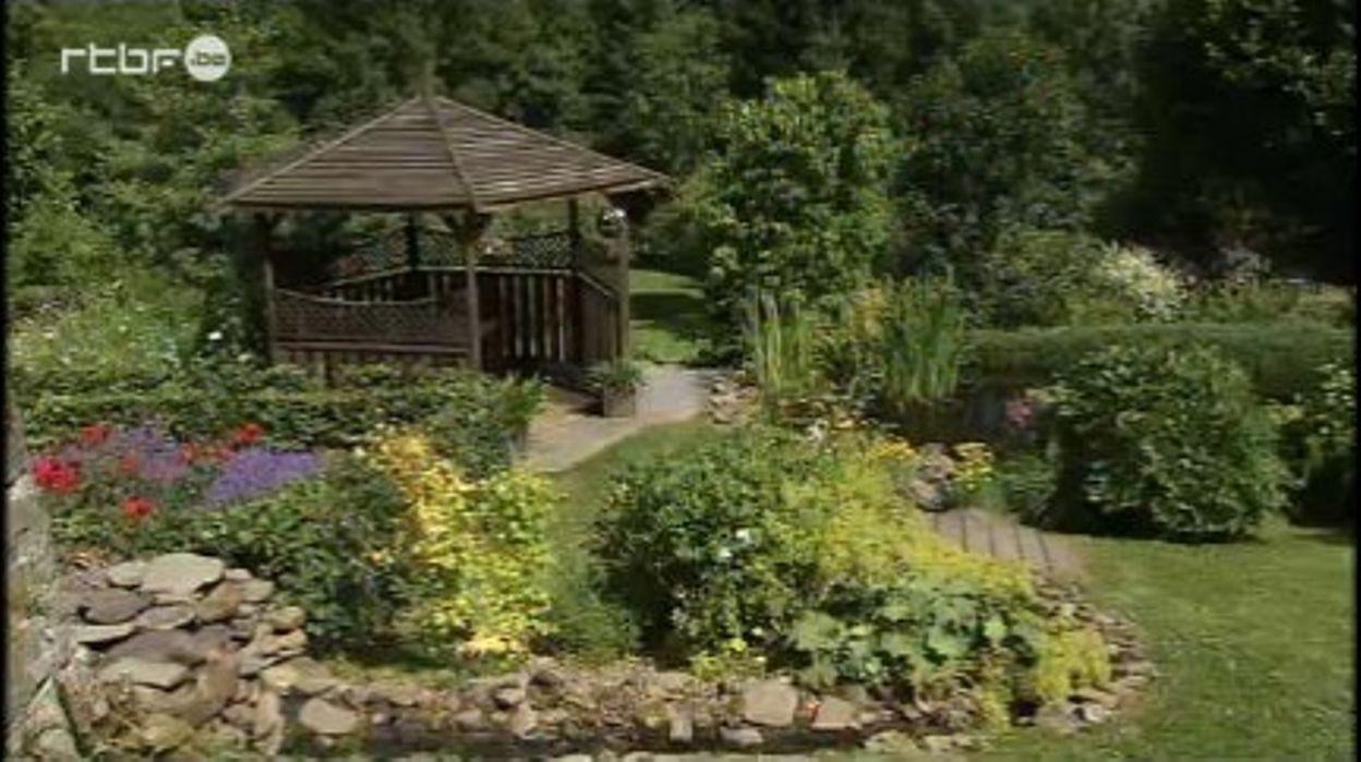 A Masbourg, un jardin à flanc de vallée