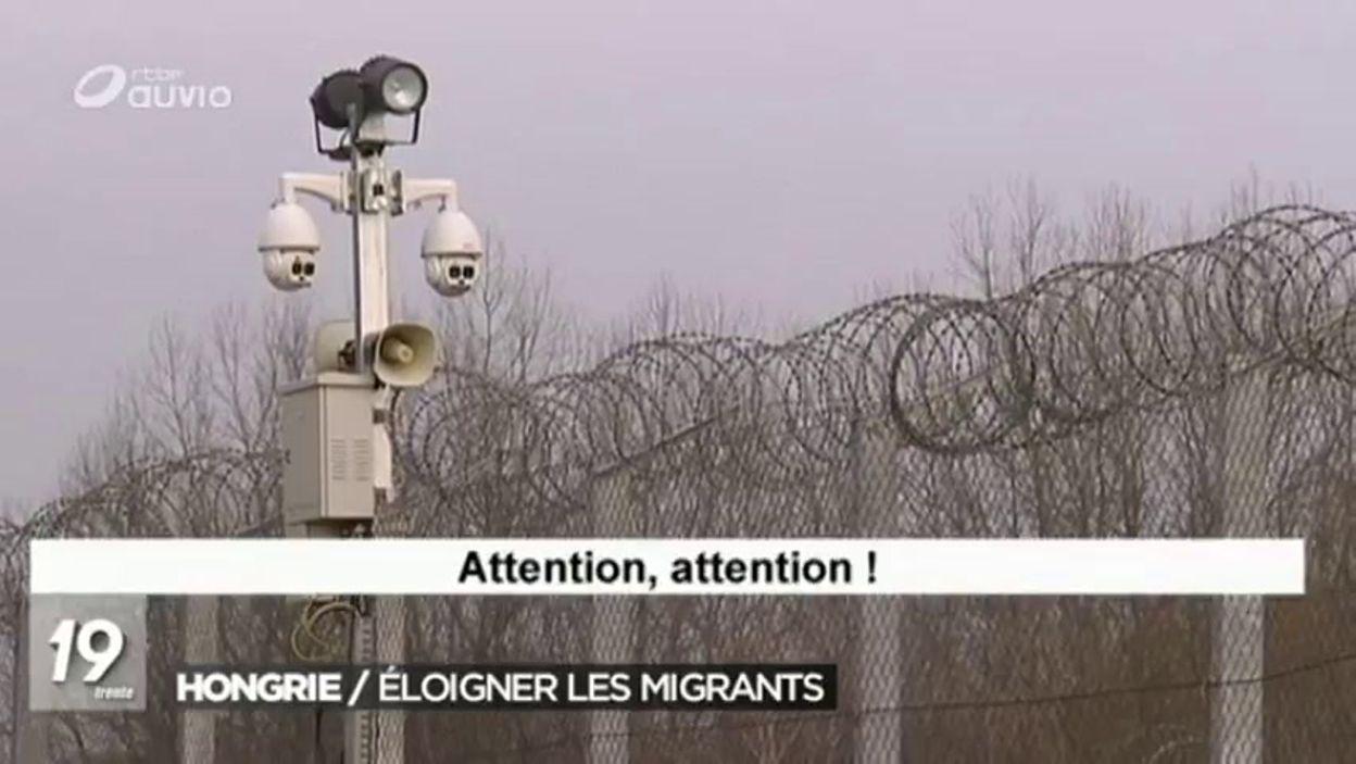 Hongrie : les chasseurs de frontière - 16/03/2017