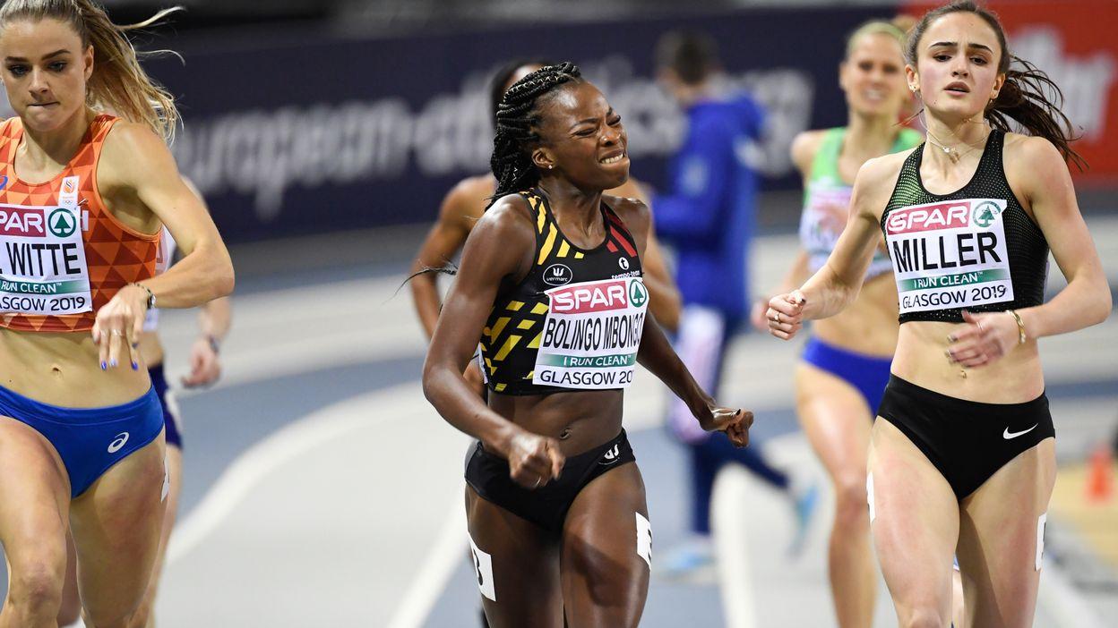 Cynthia Bolingo médaillée d'argent sur 400 m avec un nouveau record de Belgique