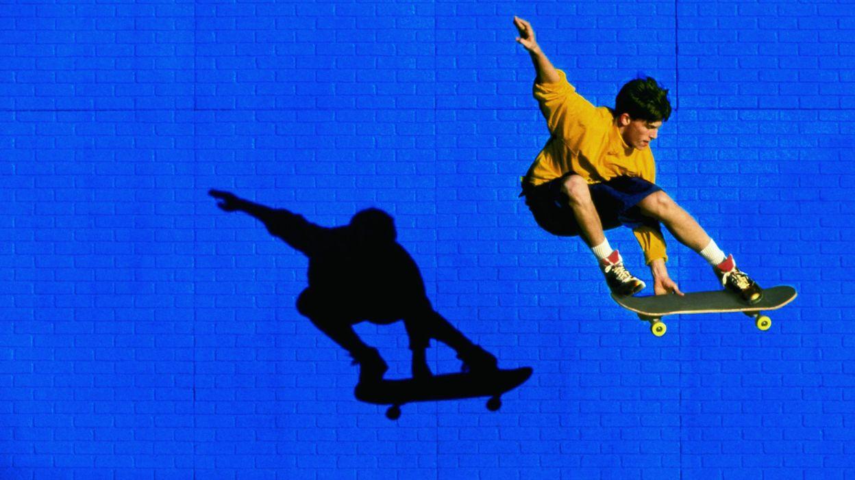 La grande forme - Skateboard
