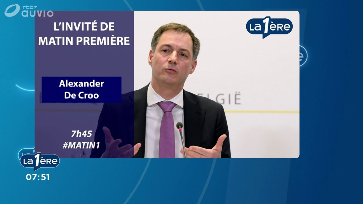 L'invité de Matin Première : Alexander De Croo