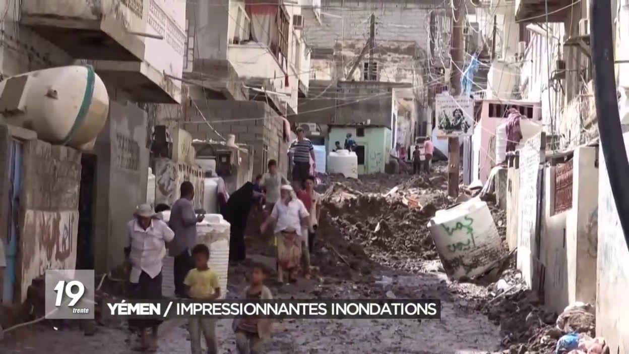 Inondations au Yémen