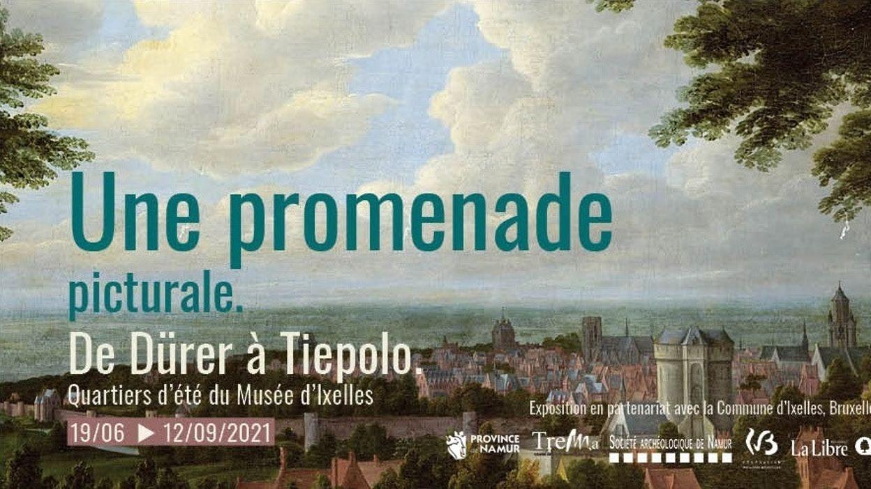 Une promenade picturale,  De Dürer à Tiepolo à découvrir au TreM.a à Namur