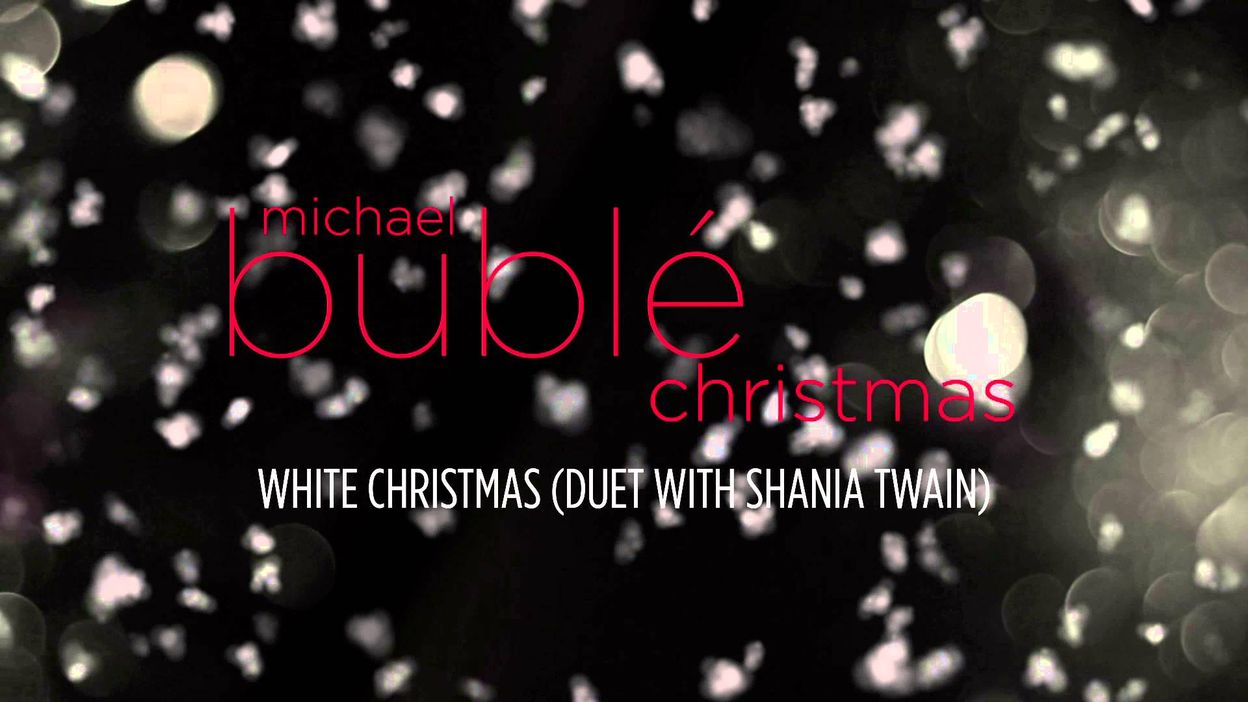 Michael Buble White Christmas.Michael Buble Ft Shania Twain White Christmas Audio
