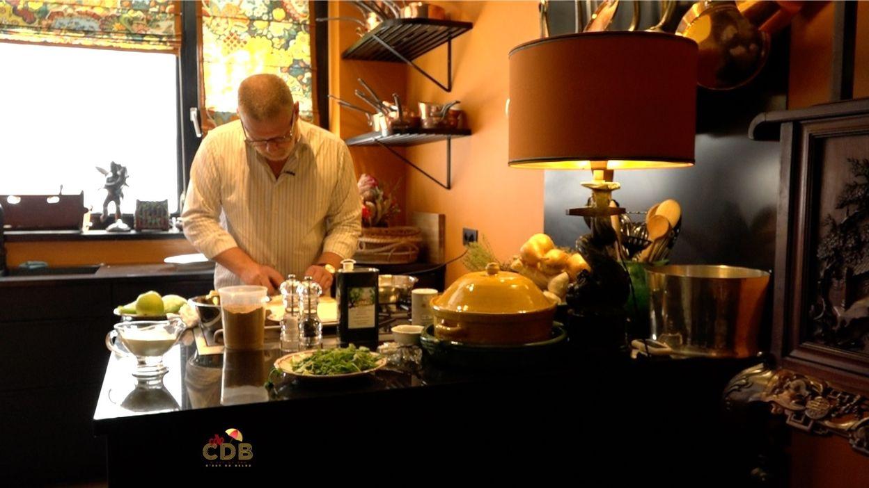 C'est du bon, c'est du belge : Recette d'oeufs pochés au curry de Gerald Watelet