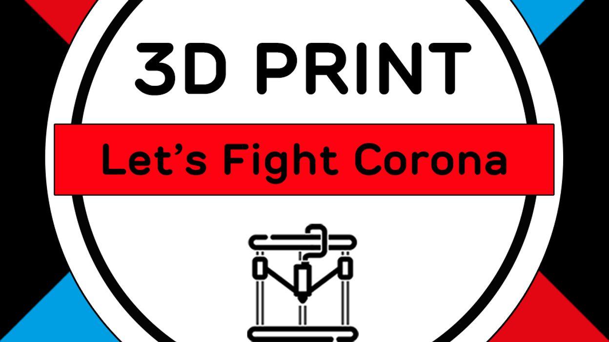 Vidéo de fabrication de visières en 3D par la société grand-ducale