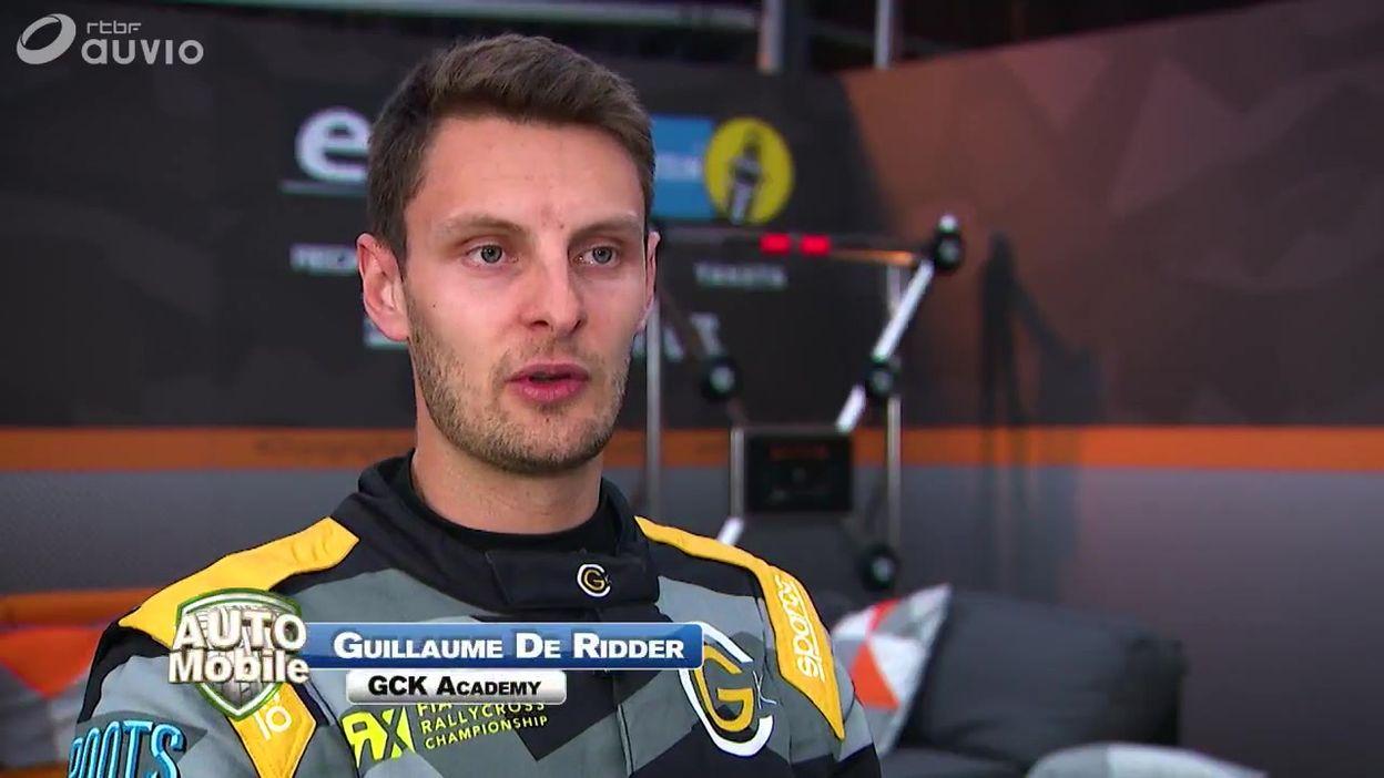 Guillaume De Ridder en phase d'apprentissage en World RX