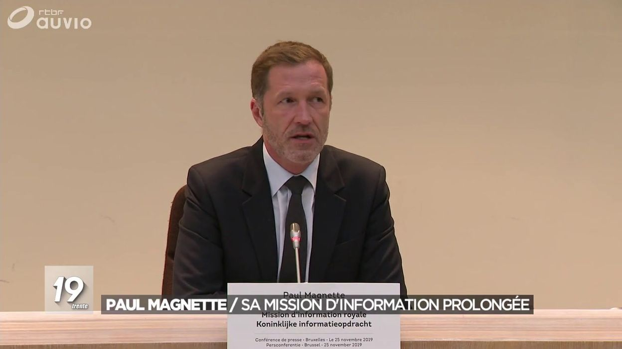 Paul Magnette : sa mission d'information prolongée