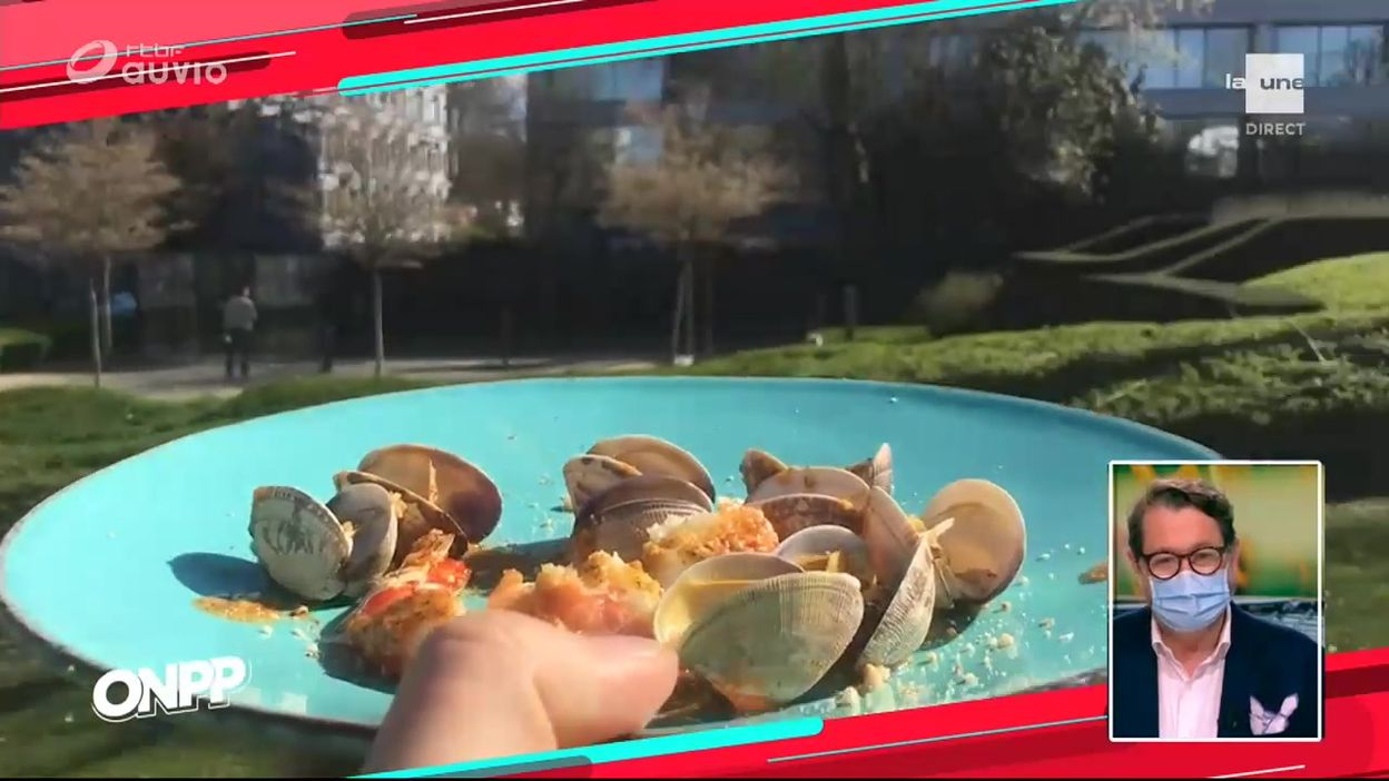 Recette de Carlo: Crevettes et palourdes au BBq jetable