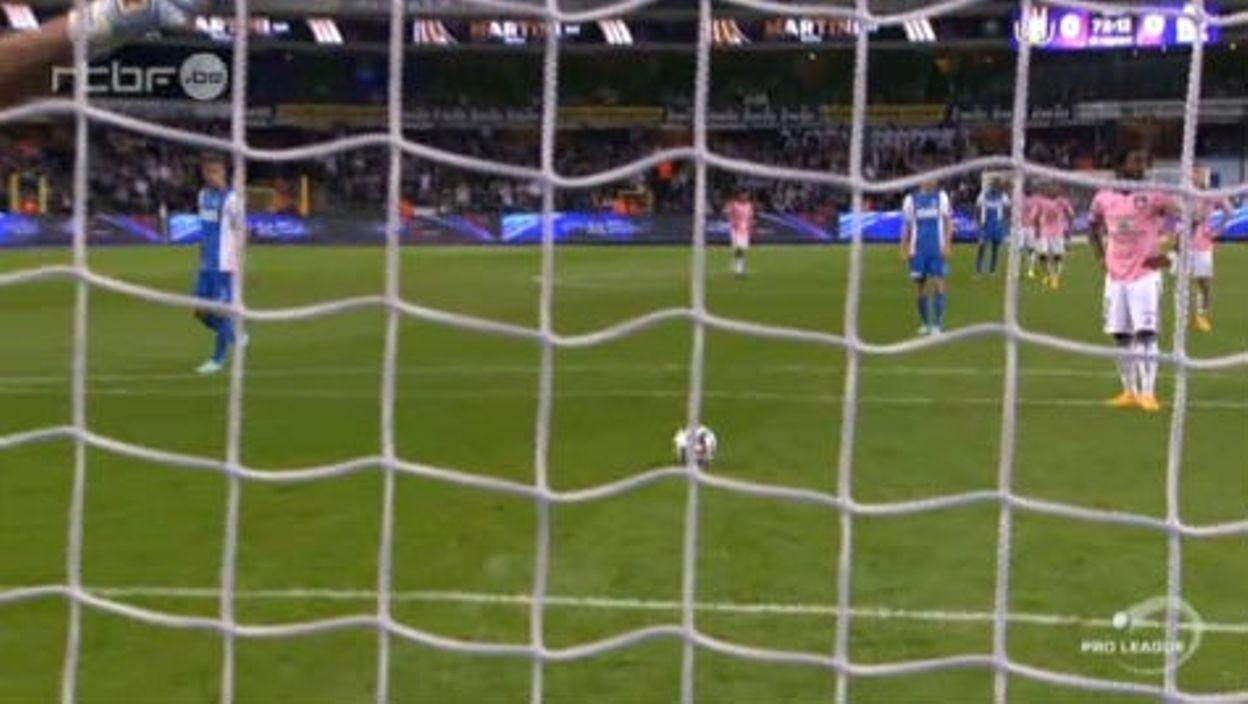 Anderlecht-Genk (0-0) : Le résumé