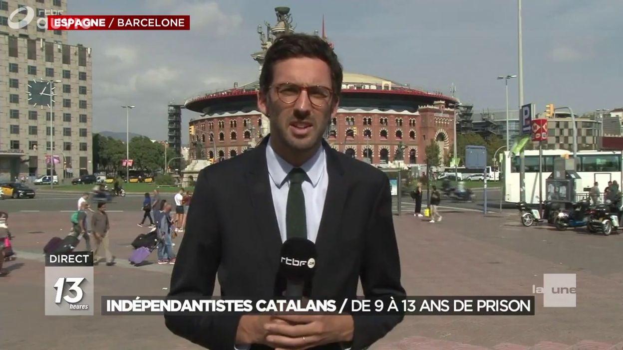 Condamnation des séparatistes catalans : direct depuis Barcelone