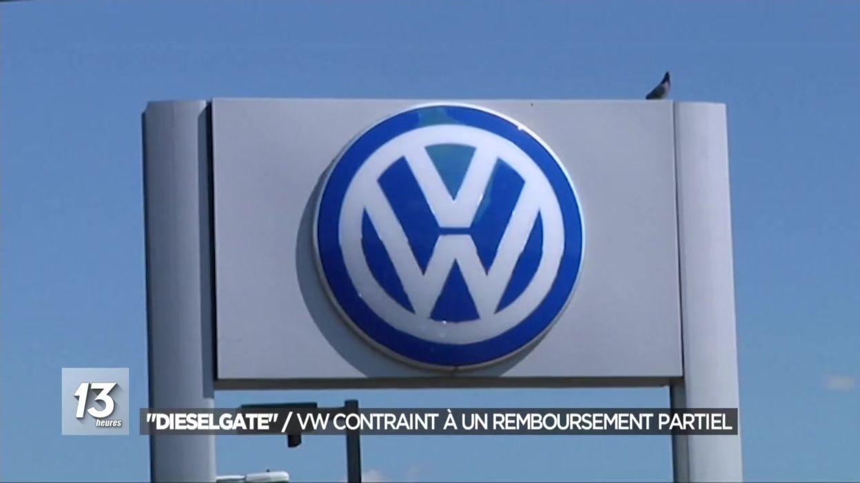 Dieselgate : VW contraint à un remboursement partiel