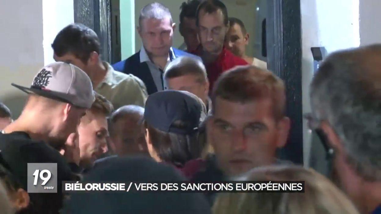 Biélorussie: vers des sanctions européennes malgré la libération de manifestants
