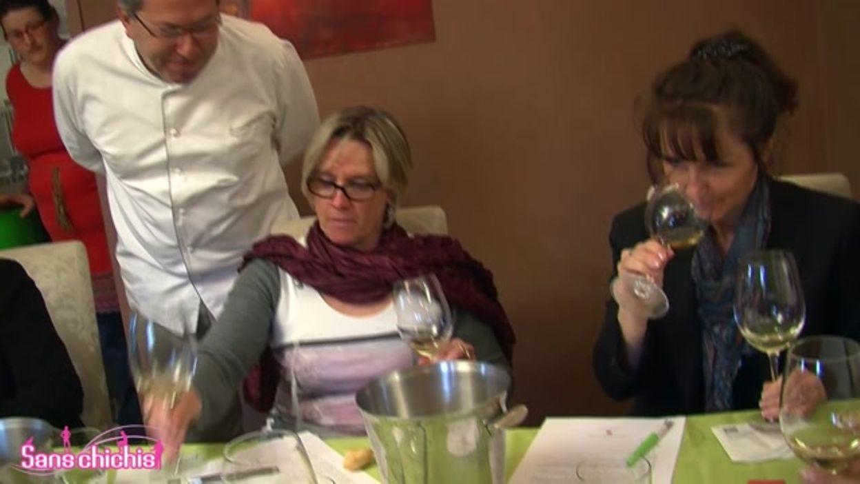 Le Vin des Femmes au restaurant