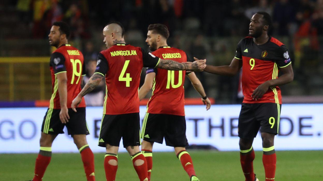 Belgique - Grèce : 25 mars 2017 (1-1)
