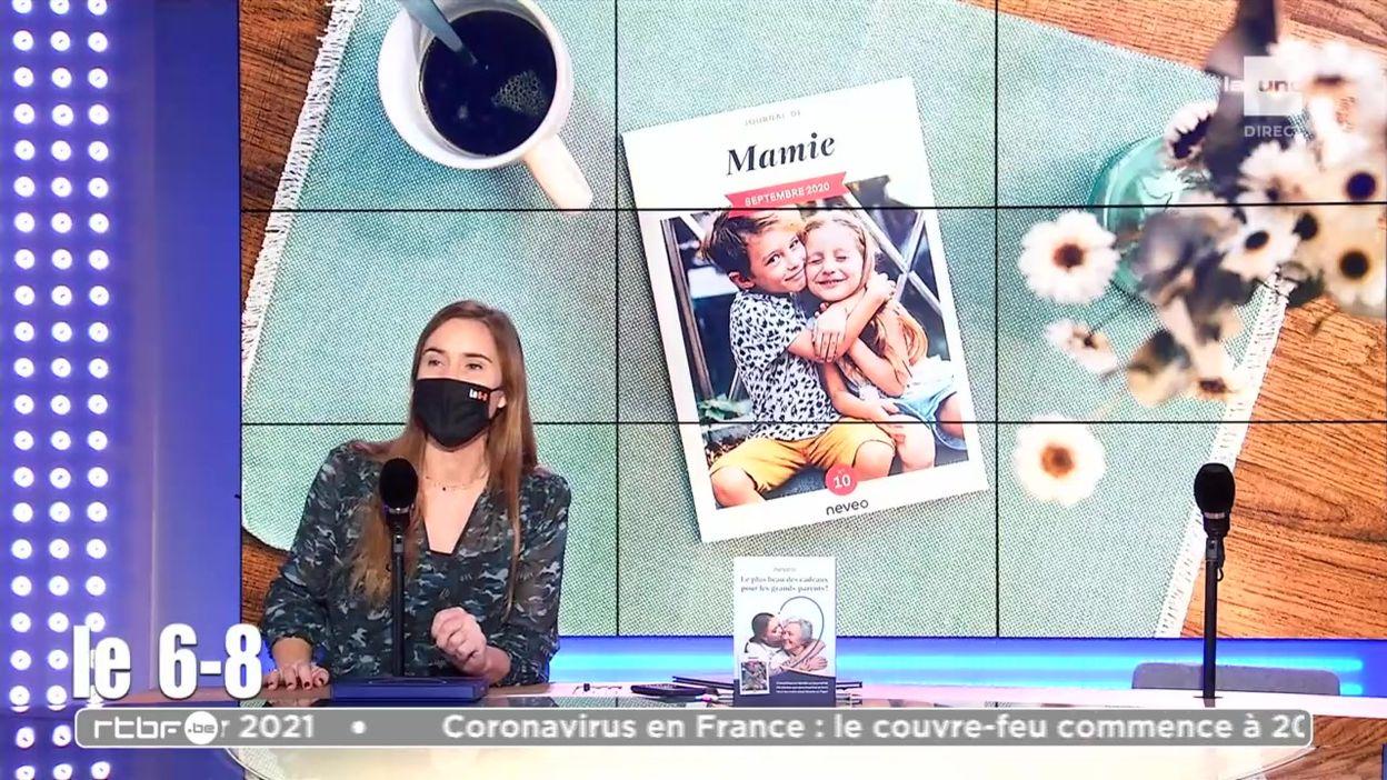 Un journal mensuel avec les photos et les aventures de toute la famille