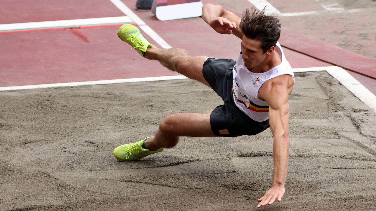 Athlétisme : Thomas Van der Plaetsen se claque à la longueur