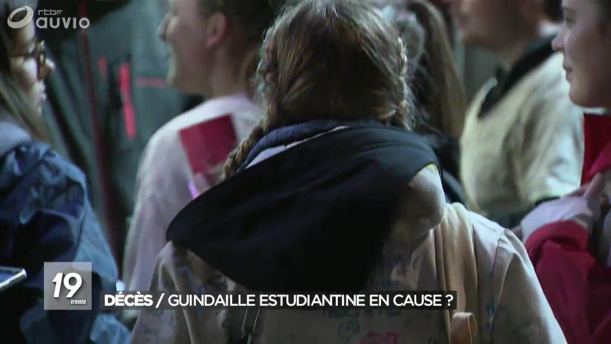 Deces D Un Etudiant A Liege La Guindaille Estudiantine En Cause