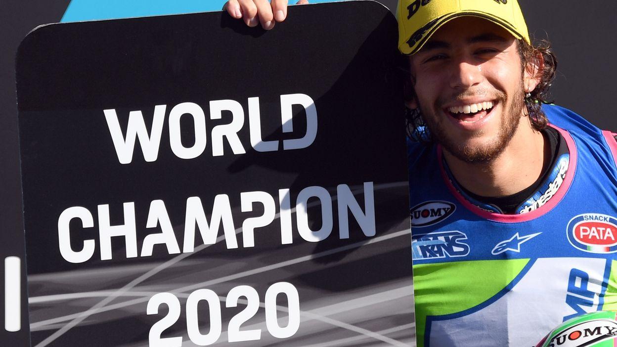 Moto2 - GP Portugal 2020 : Victoire de Remy Gardner.  Enea Bastianini Champion du Monde