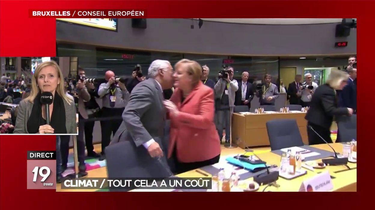 Conseil européen: le coût des mesures en faveur du climat