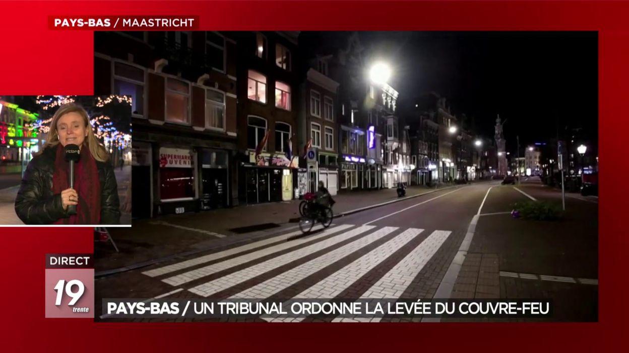 Pays-Bas / Un tribunal ordonne la levée du couvre-feu