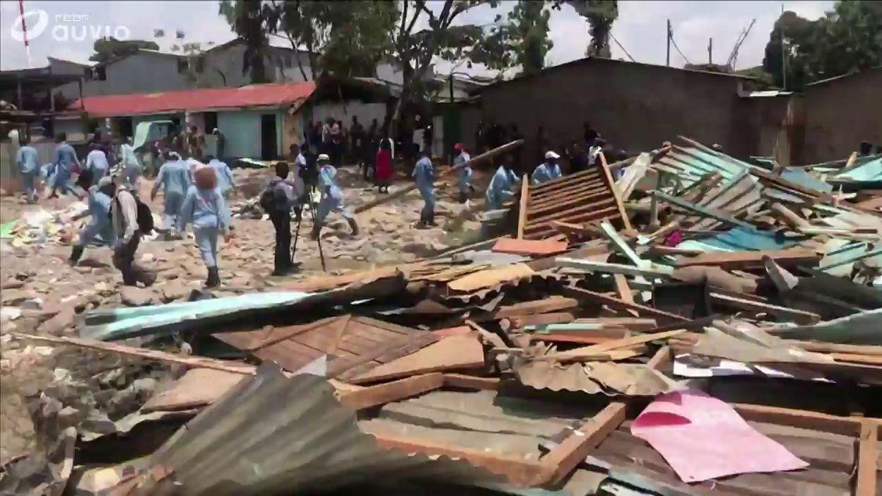 Kenya: sept écoliers tués dans l'effondrement de salles de classe à Nairobi (2)