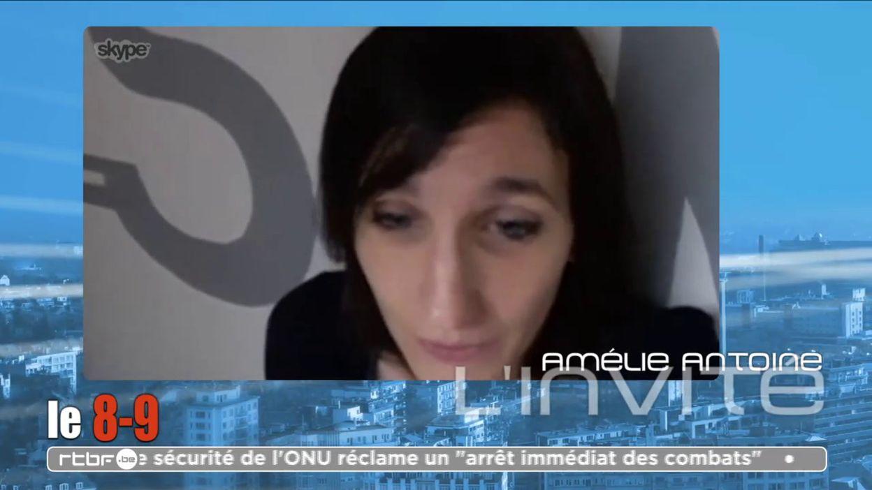 Amélie Antoine sort