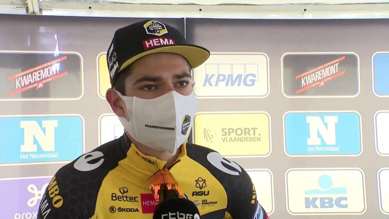Wout van Aert prend confiance avant le 'Ronde':