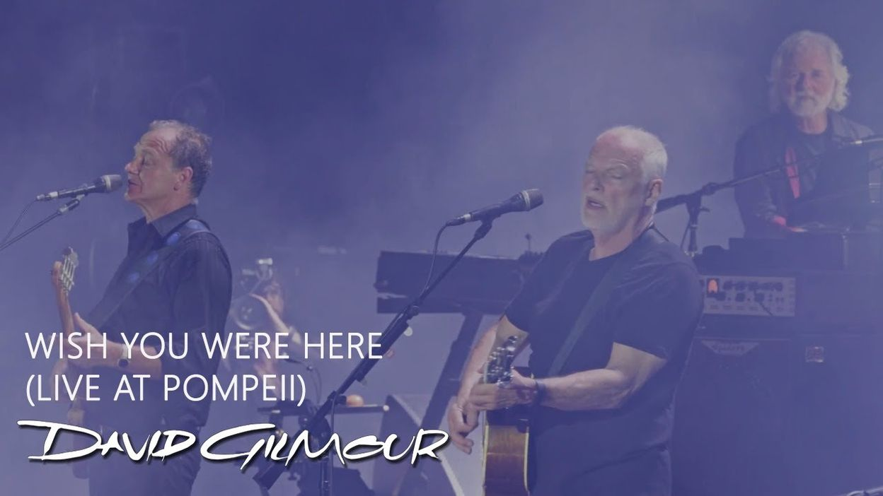 David Gilmour - Wish You Were Here (Live At Pompeii) - 15/05