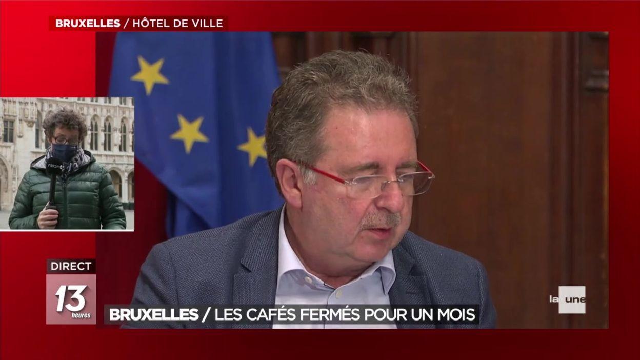 Bruxelles : les cafés fermés pour un mois