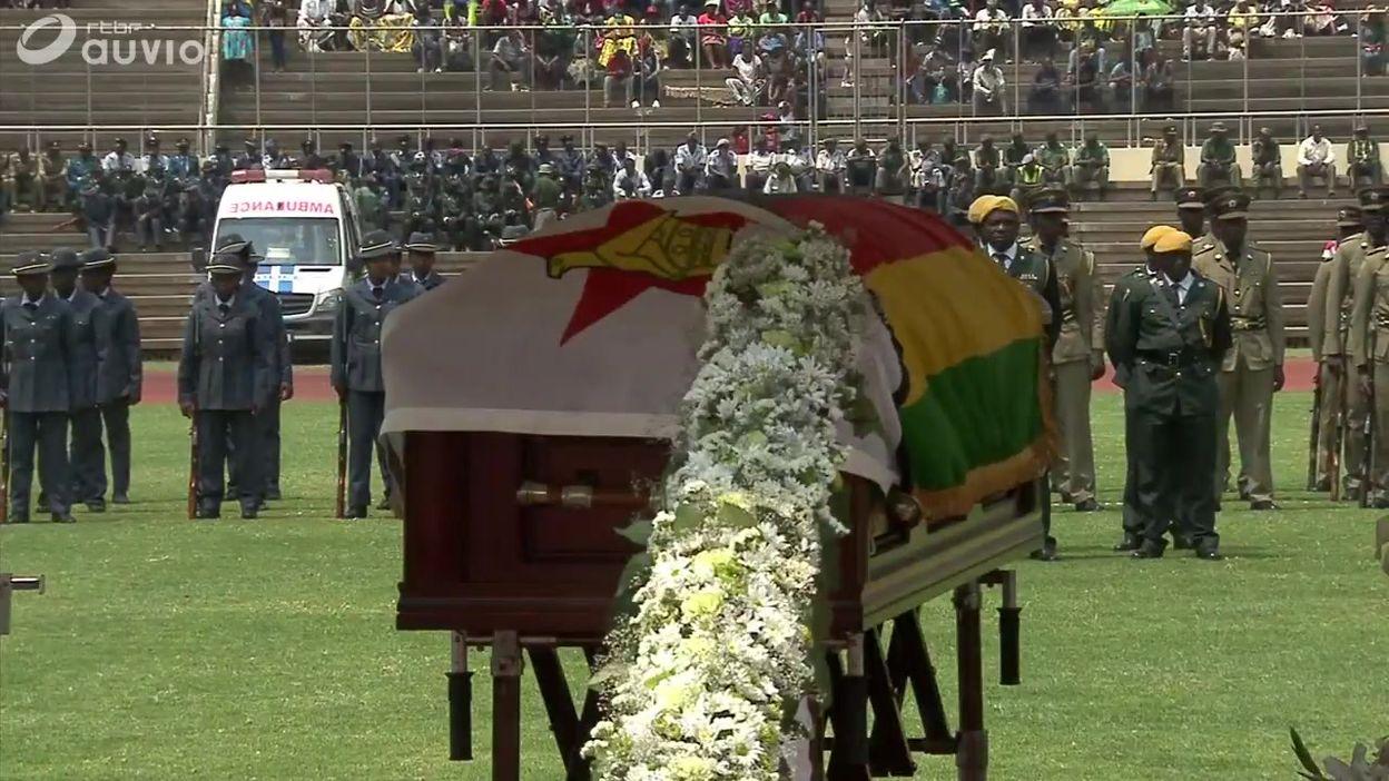Les funérailles de Robert Mugabe au Zimbabwe