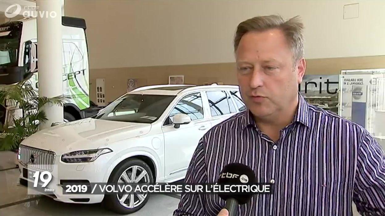 Volvo Cars mise sur l'électrique pour 2019