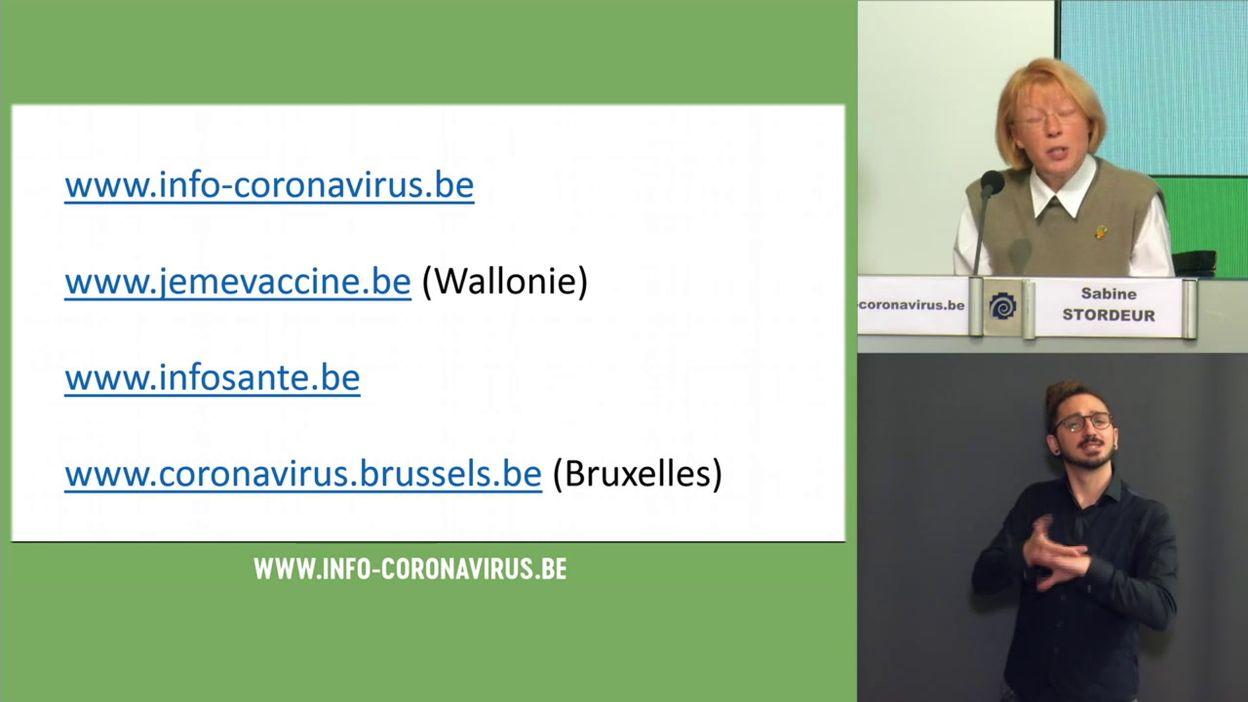 Point presse covid-19 du 13/04/2021 : le cap des 2 millions de personnes vaccinées atteint aujourd'hui