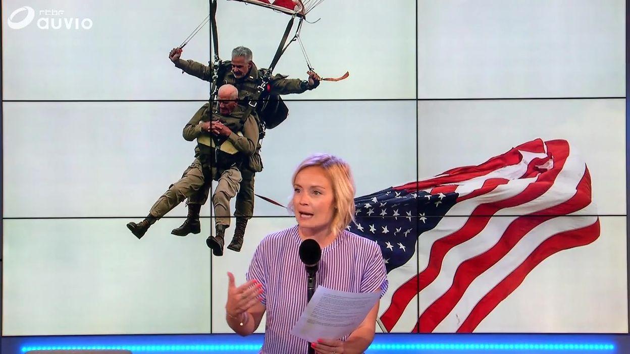 La Semaine Viva : l'image d'un vétéran en parachute