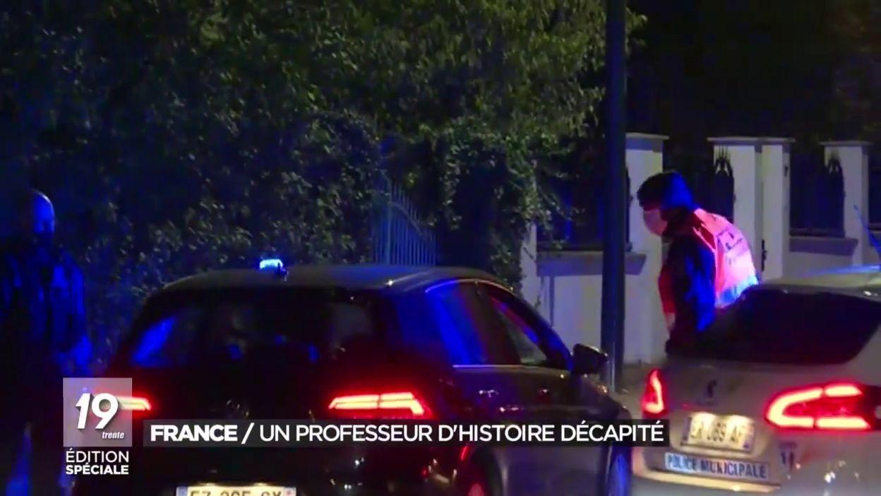 France: un professeur d histoire décapité