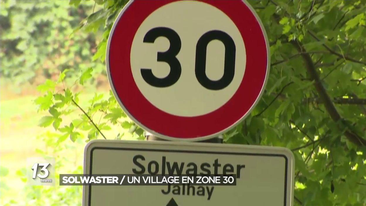 Solwaster: un village en zone 30