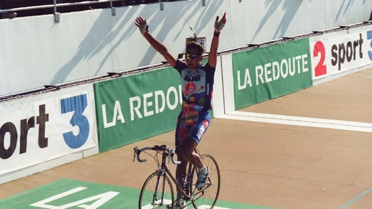 Paris-Roubaix 1995 : Victoire de Franco Ballerini