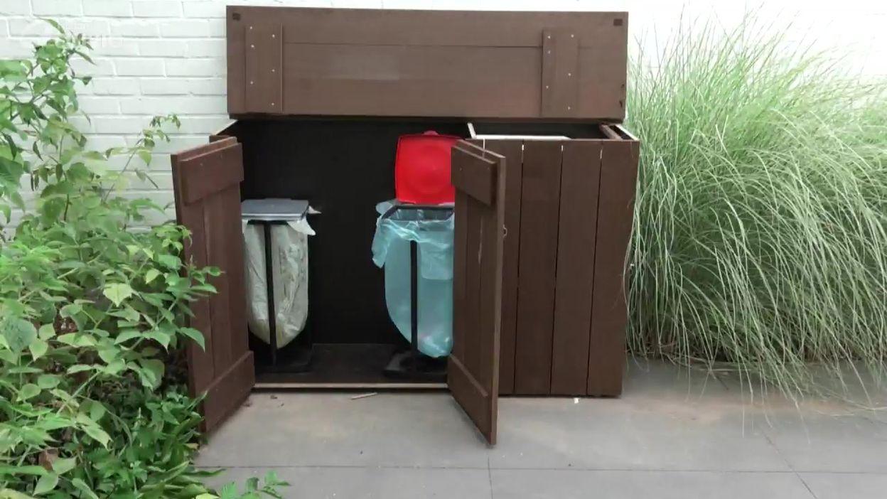 Il y a un truc: Fabriquer un abri à poubelles