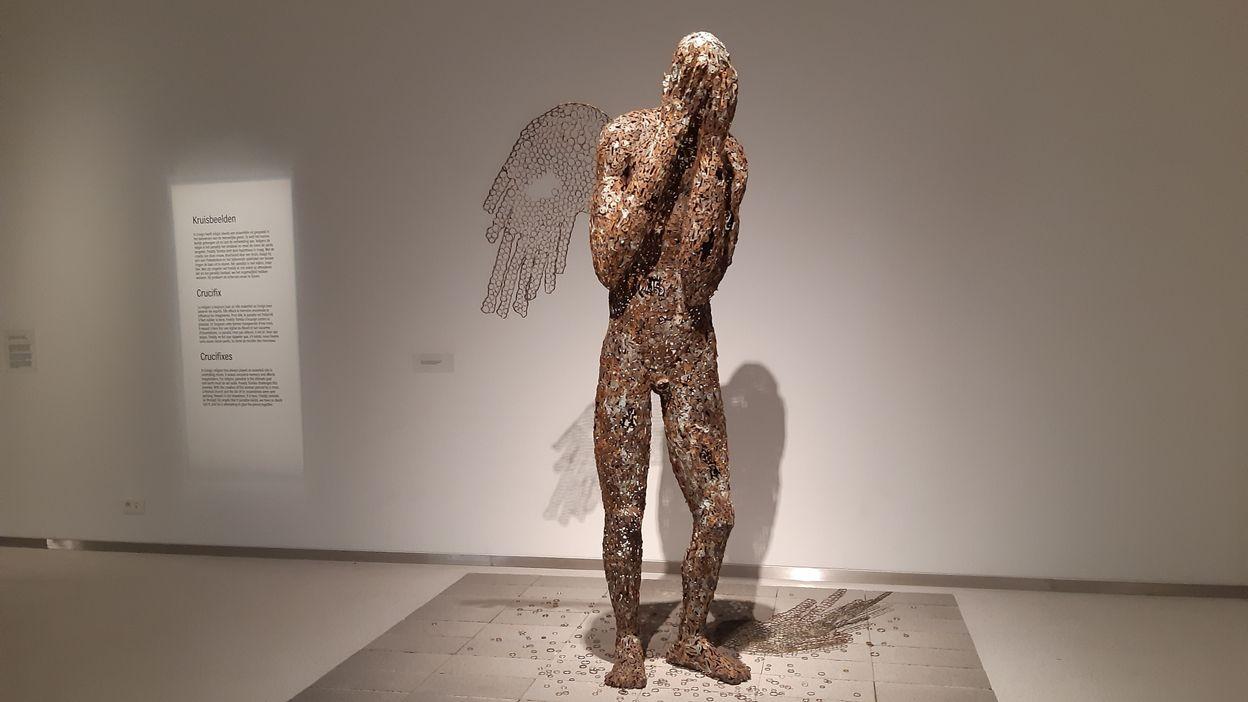 « Mabele Eleki Lola ! », les sculptures de Freddy Tsimba au Musée royal de l'Afrique centrale (2)