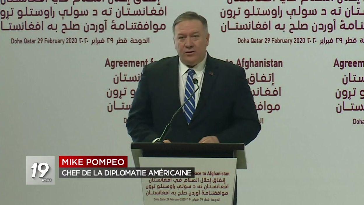 Accord de paix historique entre les États-Unis et les Talibans
