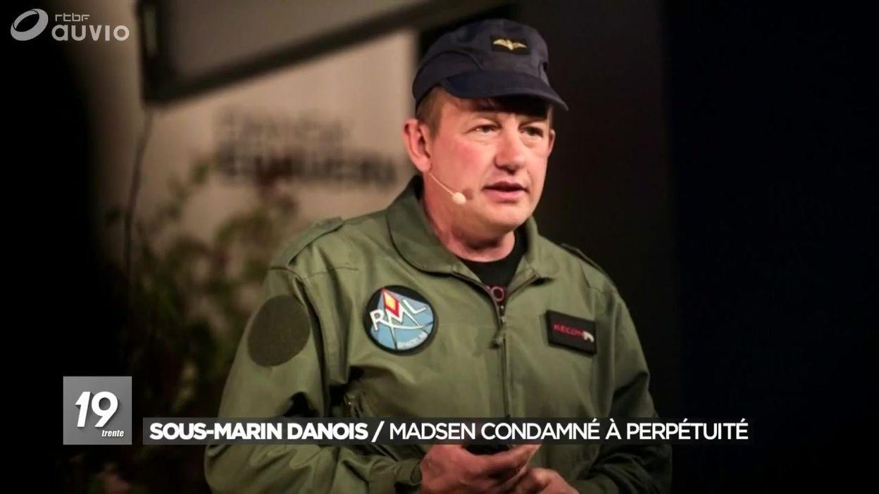 Affaire du sous-marin au Danemark : Peter Madsen condamné
