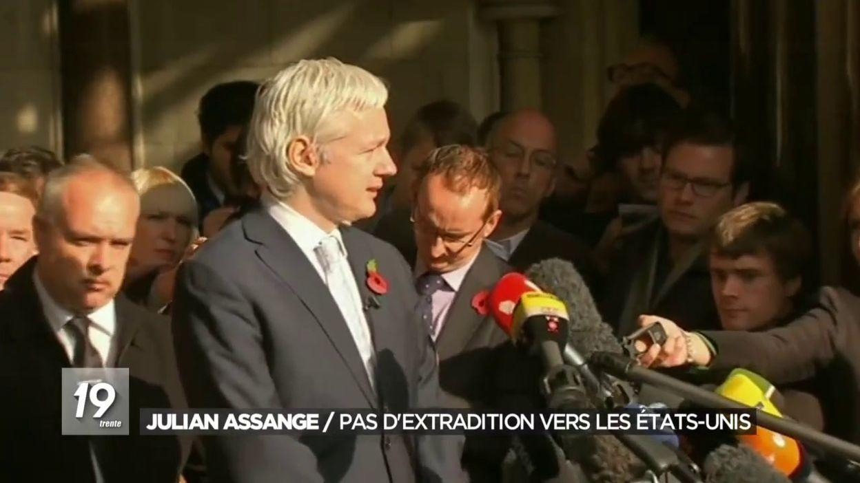 Julian Assange : pas d extradition