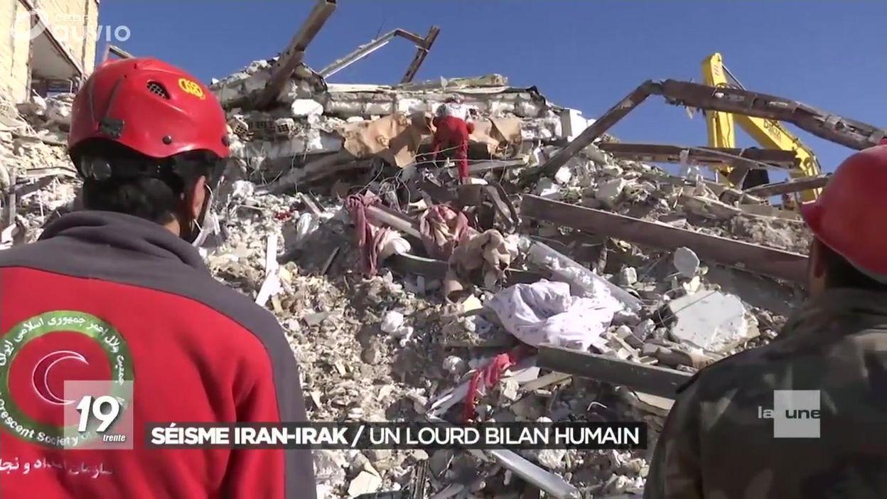 Séisme Iran/Irak : Un lourd bilan humain