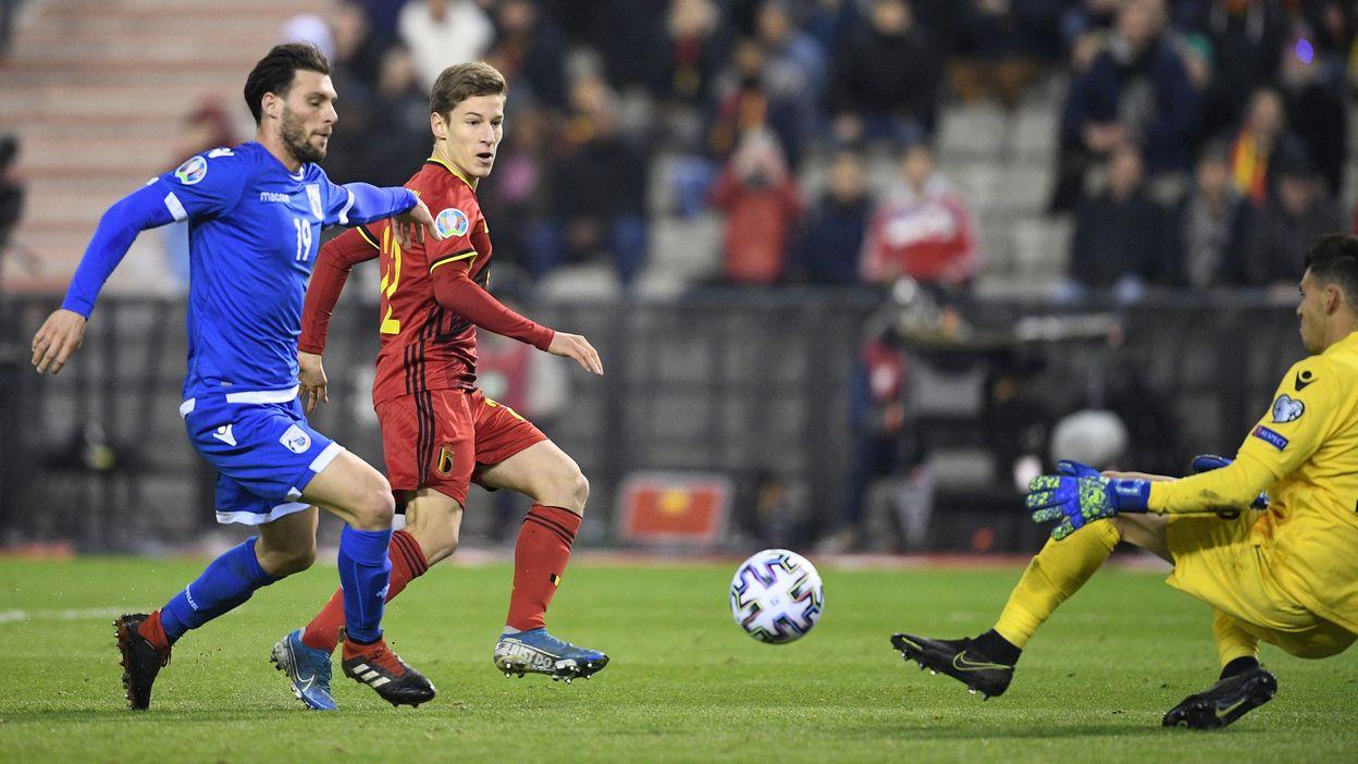 Belgique - Chypre : 19 novembre 2019 (6-1)
