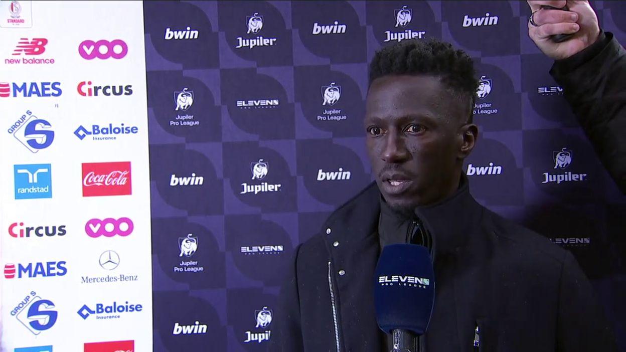Mbaye Leye évoque la saison prochaine après la défaite face à Ostende: