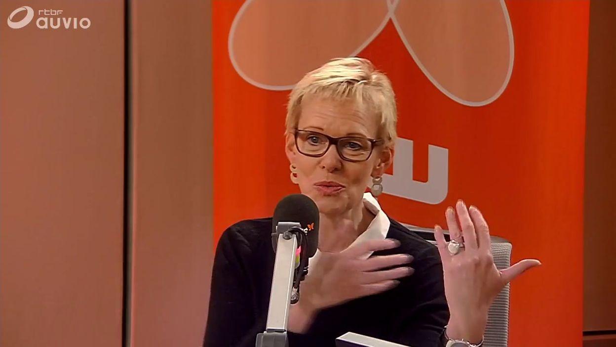 Karine Lalieux était l invitée du 7h45 sur VivaBxl